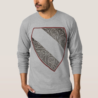 Camiseta Crista e capacete medievais IV