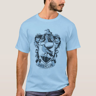 Camiseta Crista moderna de Harry Potter | Ravenclaw
