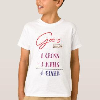 Camiseta cristã perdoada