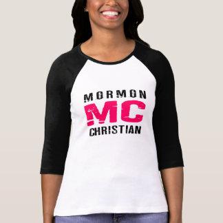 Camiseta Cristão do Mormon de MC