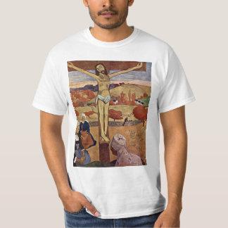 Camiseta Cristo amarelo por Paul Gauguin, belas artes do