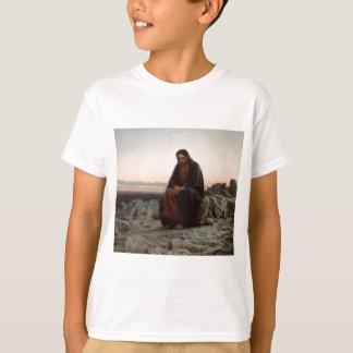 Camiseta Cristo de Ivan Kramskoy- nas belas artes da região