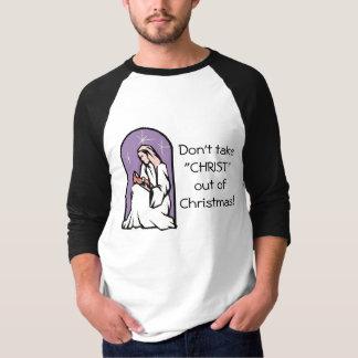 Camiseta Cristo, Feliz Natal