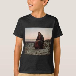 Camiseta Cristo na região selvagem - belas artes de Ivan