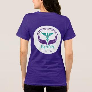 Camiseta CRNA que administra com segurança mais de 43