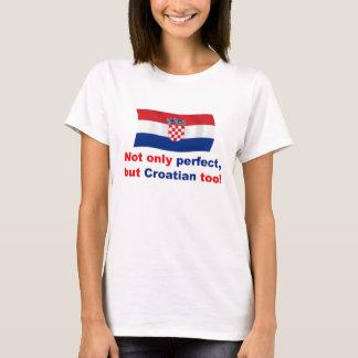 Camiseta Croata perfeito