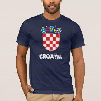 Camiseta Croatia com brasão