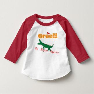 Camiseta Croc! Pela idade 7 de Brynn