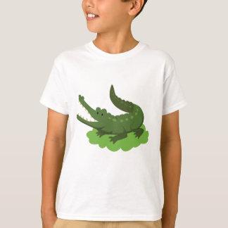 Camiseta crocodilo