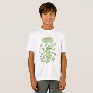 Camiseta Crocodilo feliz
