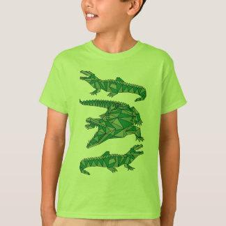 Camiseta Crocodilos geométricos