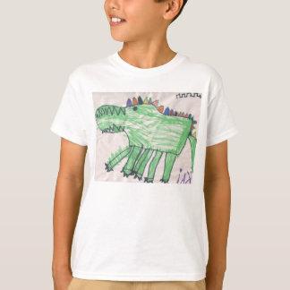 Camiseta Crocodilos para miúdos por DesignsByKai