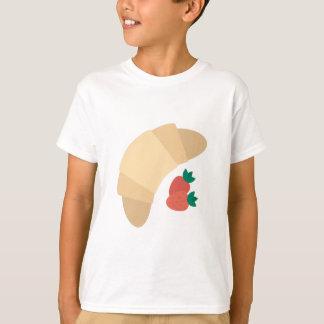 Camiseta Croissant da morango