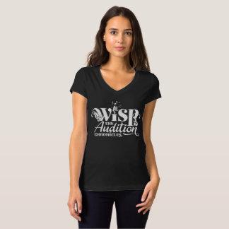 Camiseta Crónicas da audição - o corte das mulheres