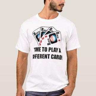 Camiseta Cronometre para jogar um cartão diferente!