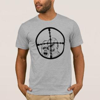 Camiseta Crosshairs do zombi