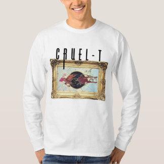 Camiseta cruel-t sleeved por muito tempo