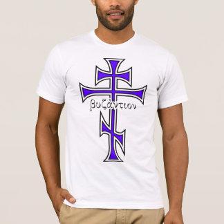 Camiseta Cruz bizantina