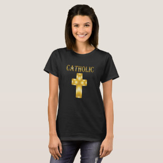 Camiseta Cruz católica