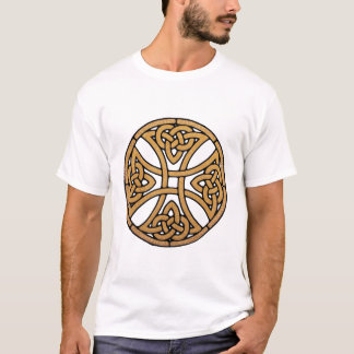 Camiseta cruz celta do nó