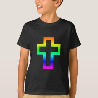 Camiseta Cruz (cristã) Latin