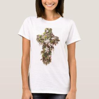 Camiseta Cruz das flores