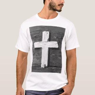 Camiseta Cruz de madeira