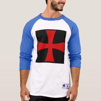 Camiseta Cruz de Templar dos cavaleiros