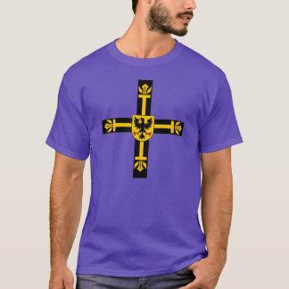 Camiseta Cruz Teutonic dos cavaleiros