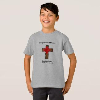 Camiseta Cruz vermelha original (meninos)