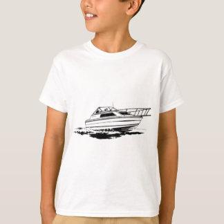 Camiseta Cruzador do barco da velocidade