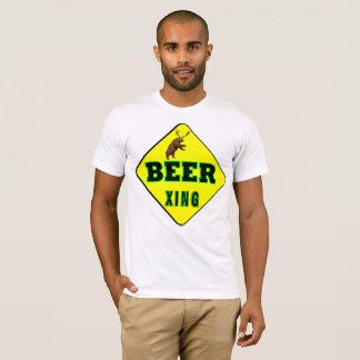Camiseta Cruzamento da cerveja