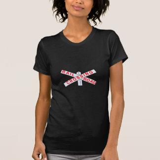 Camiseta Cruzamento de estrada de ferro