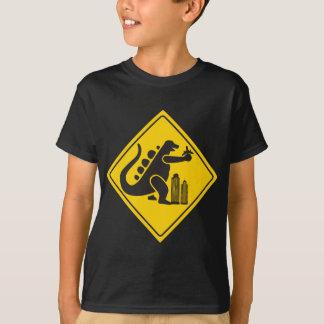 Camiseta Cruzamento do monstro
