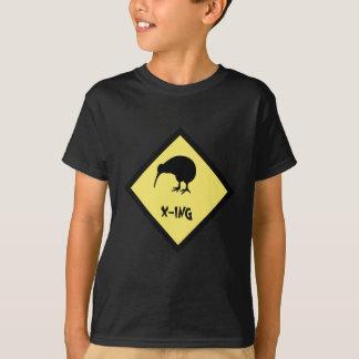 Camiseta cruzamento do quivi