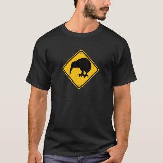 Camiseta Cruzamento do quivi de Nova Zelândia