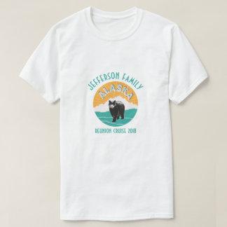 Camiseta Cruzeiro da reunião de família de Alaska
