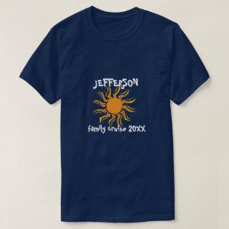 Camiseta Cruzeiro louco da família do sol