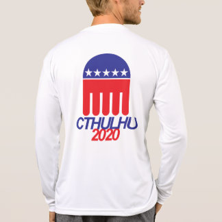 Camiseta Cthulhu 2020 - Por que voto para pouco mau?