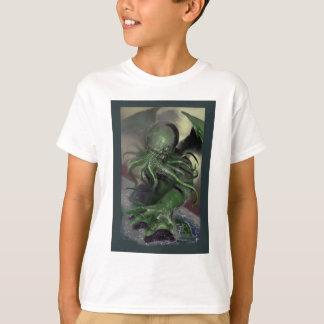 Camiseta Cthulhu cavalo-força de aumentação Lovecraft