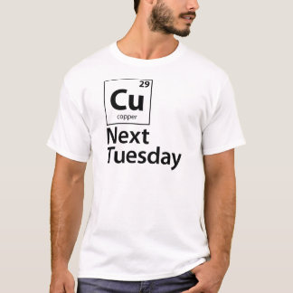 Camiseta CU próxima terça-feira