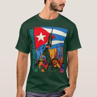 CAMISETA CUBA REVOLUCIONARIA