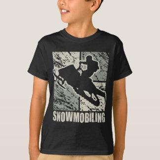Camiseta Cubism Snowmobiling