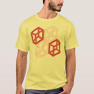 Camiseta Cuboids impossíveis