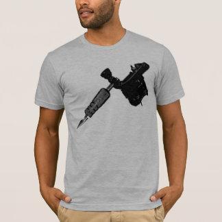 Camiseta Cubra-me tshirt esfarrapado semi cabido das cinzas