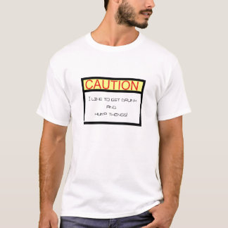 Camiseta cuidado