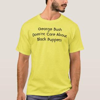 Camiseta Cuidado de George Bush Does'nt sobre fantoches