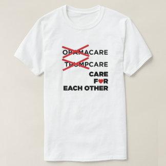 Camiseta Cuidado de Obamacare Trumpcare para se t-shirt