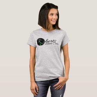 Camiseta Cuidado do gramado de Roberts