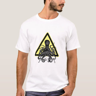 Camiseta Cuidado! Polvo/Cthulu adiante